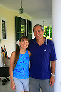 Barbara and Gary Anderson, Shipman House, Hilo, Island of Hawaii