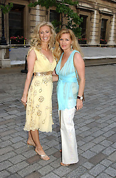 Left to right, JENNY HALPERN and AMANDA KYME at the Royal Academy of Arts Summer Exhibition Preview Party held at Burlington House, Piccadilly, London on 2nd June 2005<br /><br />NON EXCLUSIVE - WORLD RIGHTS