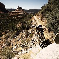 Trek Bikes 2013, commissioned shoot, Arizona, USA. Rider: Travis Brown.