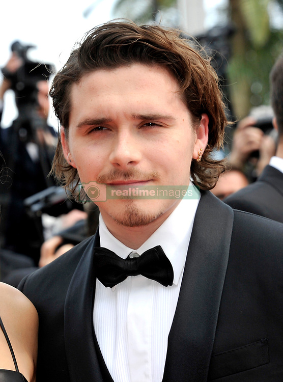 Brooklyn Beckham arriving for the Once Upon a Time in Hollywood Premiere held at the Grand Theatre Lumiere at the Palais des Festivals during the 72nd Cannes Film Festival.