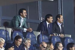 September 18, 2019, Paris, France: Tamim ben Hamad Al Thani - prince du Qatar - proprietaire du PSG (Credit Image: © Panoramic via ZUMA Press)