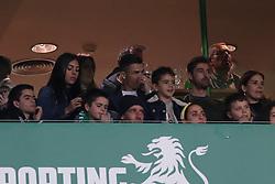 February 3, 2019 - Lisbon, Portugal - Portugal's and Juventus' forward Cristiano Ronaldo and Georgina Rodriguez attend the Portuguese League football match Sporting CP vs SL Benfica at Alvalade stadium in Lisbon, Portugal on February 3, 2019. (Credit Image: © Pedro Fiuza/NurPhoto via ZUMA Press)