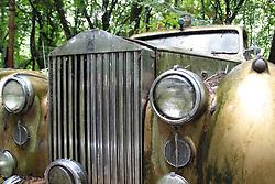 20.01.2016, Autofriedhof, Mettmann, GER, Mettmann Autofriedhof, im Bild Alter Rolls Royce verwittert auf einem Autofriedhof // cars on a weather on a car graveyard Autofriedhof in Mettmann, Germany on 2016/01/#DAY#. EXPA Pictures © 2016, PhotoCredit: EXPA/ Eibner-Pressefoto/ Deutzmann<br /> <br /> *****ATTENTION - OUT of GER*****