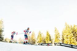 December 16, 2017 - Toblach, ITALY - 171216 Niklas Dyrhaug and Sjur RÂ¿the of Norway compete in men's 15km interval start free technique during FIS Cross-Country World Cup on December 16, 2017 in Toblach..Photo: Jon Olav Nesvold / BILDBYRN / kod JE / 160104 (Credit Image: © Jon Olav Nesvold/Bildbyran via ZUMA Wire)