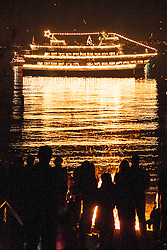North America, United States, Washington, Bellevue, annual Christmas Ship Parade