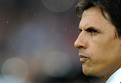 Wales Manager Chris Coleman - Photo mandatory by-line: Alex James/JMP - Mobile: 07966 386802 - 12/06/2015 - SPORT - Football - Cardiff - Cardiff City Stadium - Wales v Belgium - Euro 2016 qualifier