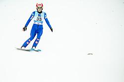 Eva Pinkelnig of Austria during 2nd Round at Day 1 of World Cup Ski Jumping Ladies Ljubno 2019, on February 8, 2019 in Ljubno ob Savinji, Slovenia. Photo by Matic Ritonja / Sportida