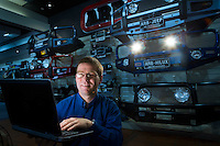 I.T. Specialist at ARB, Aaron Miles. Credit: Photo Br Craig Sillitoe Photography