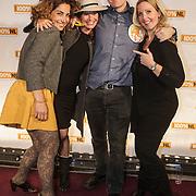 NLD/Amsterdam/20150203 - Uitreiking 100% NL Awards 2015, Directeur 100% NL Herbert VIsser met zijn medewerkers
