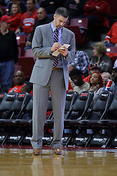 03 December 2016:   during an NCAA  mens basketball game between the New Mexico Lobos the Illinois State Redbirds in a non-conference game at Redbird Arena, Normal IL