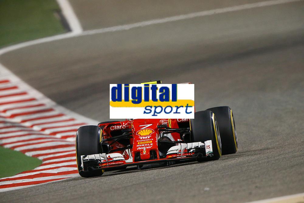 RAIKKONEN Kimi (fin) Ferrari SF16-H team scuderia Ferrari action   during 2016 Formula 1 FIA world championship, Bahrain Grand Prix, at Sakhir from April 1 to 3  - Photo Frederic Le Floc'h / DPPI