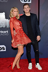 Paris Hilton, Chris Zylka attend the 2018 iHeartRadio Music Awards at the Forum on March 11, 2018 in Inglewood, California. Photo by Lionel Hahn/AbacaPress.com