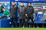 Derby County manager Wayne Rooney during the EFL Sky Bet Championship match between Queens Park Rangers and Derby County at the Kiyan Prince Foundation Stadium, London, England on 23 January 2021.