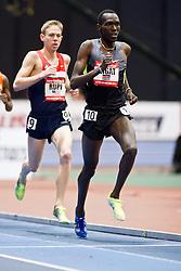 New Balance Indoor Grand Prix track meet: Men's 3000 meter, Haron Lagat paces Rupp,