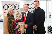 Connolly Motor Group has opened its new state-of-the-art Audi Terminal Showrooms in Ballybrit, Galway. <br /> The finishing touches have been put to the ultra-modern dealership, increasing to 35 full-time jobs, bringing the number of full-time employees at the Connolly Motor Group to over  200 with 35 of those located in Galway.<br /> Work on the new €5 million state-of-the-art dealership began just before Christmas last year and opened on Tuesday October 31st.<br /> The new 'Audi Terminal' is just a stone's throw from Connollys' former Audi Galway dealership at the Briarhill Business Park, close to the Galway Racecourse in Ballybrit. <br /> Finished to the highest spec with the most up-to-date technology, the 23,000 sq. ft. car retail facility is based around Audi's newest design concept. <br /> It is one of the most modern facilities in the country and includes the most up-to-date technology for electric vehicles with multiple power points.<br /> At the Weekend launch was Joe Canning Audi Ambassador with Denis  Shane and Nigel  Buckley Photo:Andrew Downes