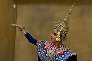 Khon, the Khon Masked Dance Drama in Thailand, is a performing art that combines musical, vocal, literary, dance, ritual and handicraft elements. Khon performances – which involve graceful dance movements, instrumental and vocal renditions and glittering costumes – depict the glory of Rama, the hero and incarnation of the god Vishnu, who brings order and justice to the world. The many episodes depict Rama's life, including his journey in the forest, his army of monkeys, and his fights with the army of Thosakan, king of the giants. On one level, Khon represents high art cultivated by the Siamese/Thai courts over centuries, while at another level, as a dramatic performance, it can be interpreted and enjoyed by spectators from different social backgrounds. Khon has a strong didactic function, reinforcing respect for those of a higher age and status, mutual dependence between leaders and followers, the honour of rulers and the triumph of good over evil. Traditionally, Khon was transmitted in the royal or princely courts, and in dance masters' households. Today, however, transmission occurs mostly in educational institutions, while still adhering largely to traditional methods. Concerted efforts are made to ensure the continuity of the practice, including through the establishment of training and performance clubs that help reach out to young people.  UNESCO