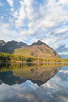 Upper Kintla Lake Glacier National Park Montana