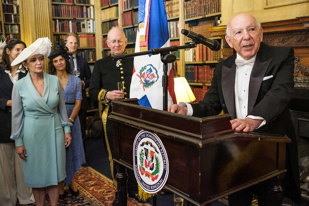 The Ambassador of Dominican Republic, Mr Hugo Guiliani Cury for United Kingdom