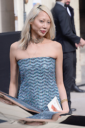 Soo Joo Park arriving at the Chanel show as part of the Paris Fashion Week Womenswear Fall/Winter 2018/2019 in Paris, France on March 6, 2018. Photo by Julien Reynaud/APS-Medias/ABACAPRESS.COM