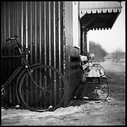 Vintage Bicycle, Mid-Suffolk Light Railway