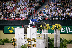 Melchior Judy Ann, BEL, Grand Dame Z<br /> World Cup Final Jumping - Las Vegas 2007<br /> © Hippo Foto - Dirk Caremans<br /> 22/04/2007