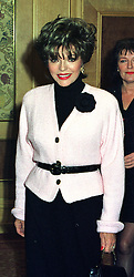 Actress JOAN COLLINS at a luncheon in London on 11th December 1997.<br /> MEF 38