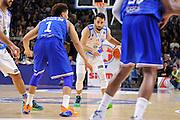 DESCRIZIONE : Beko Legabasket Serie A 2015- 2016 Dinamo Banco di Sardegna Sassari - Enel Brindisi<br /> GIOCATORE : Rok Stipcevic<br /> CATEGORIA : Palleggio<br /> SQUADRA : Dinamo Banco di Sardegna Sassari<br /> EVENTO : Beko Legabasket Serie A 2015-2016<br /> GARA : Dinamo Banco di Sardegna Sassari - Enel Brindisi<br /> DATA : 18/10/2015<br /> SPORT : Pallacanestro <br /> AUTORE : Agenzia Ciamillo-Castoria/C.Atzori