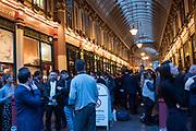 Leadenhall Market, City of London. October 5 2018