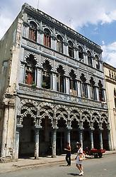 Building in Havana Vieja; Havana; Cuba,