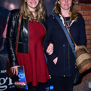 London, England, UK. 23 January 2018. Laura Bates (L) Arrivers at Beginning - press night at Ambassadors Theatre.