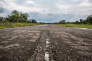 2015/11/21 - Puerto Triunfo, Colombia: The 1,3 kilometer long airfiled of Hacienda Nápoles.  The Hacienda Nápoles was a 20sq kilometer property own by drug lord Pablo Escobar. In its splendor, the property had its own private airport, bull arena, kart racing circuit and even a private zoo that included many kinds of animals from different continents such as giraffes, ostriches, elephants, hippopotamuses, antelope, and exotic birds. After the death of Pablo Escobar in 1993, the family went into a legal struggle with the Colombian government over the property. Nowadays it is an leisure park, where most of Escobar presence disappeared.