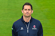 Jason Kerr head shot at Somerset County Cricket Club at the Cooper Associates County Ground, Taunton, United Kingdom on 11 April 2018. Picture by Graham Hunt.