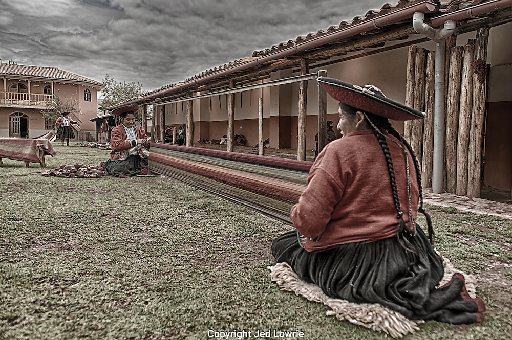 A series of images from the Sacred Valley that are offered here with a special effect that adds intrigue.