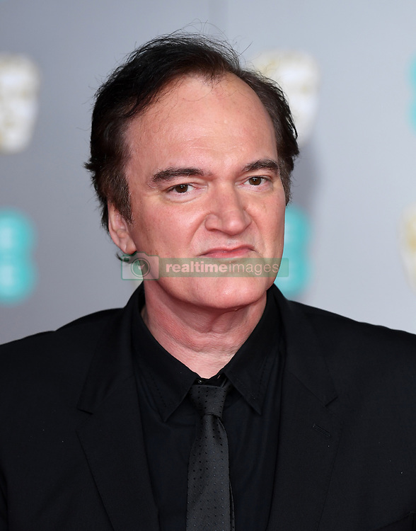 Quentin Tarantino attending the 73rd British Academy Film Awards held at the Royal Albert Hall, London. Photo credit should read: Doug Peters/EMPICS Entertainment