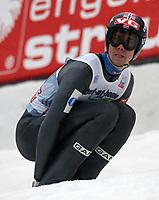 Hopp<br /> FIS World Cup<br /> Innsbruck Østerrike<br /> 04.01.2013<br /> Foto: Gepa/Digitalsport<br /> NORWAY ONLY<br /> <br /> FIS Weltcup der Herren, Vierschanzen-Tournee. Bild zeigt Anders Bardal (NOR).
