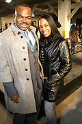 """Issac Daniels and Tiffany Withers at """" The Brooklyn Underground Fashion Rocks! """" BK Fashion Week(end)  held at Northside Pier at Kent Avenue in Williamburg, Brooklyn on March 22, 2008"""