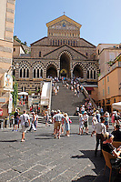 GV, general view, Duomo di Amalfi, Amalfi Cathedral, September, 2015, 201509161613<br /> <br /> Copyright Image from Victor Patterson, 54 Dorchester Park, Belfast, UK, BT9 6RJ<br /> <br /> t1: +44 28 9066 1296<br /> t2: +44 28 9002 2446<br /> m: +44 7802 353836<br /> e: victorpatterson@me.com<br /> <br /> www.victorpatterson.com<br /> <br /> IMPORTANT: Please see my Terms and Conditions of Use at www.victorpatterson.com