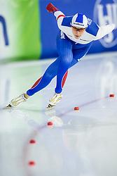 11-12-2016 NED: ISU World Cup Speed Skating, Heerenveen<br /> Yekaterina Shikhova RUS op de 1000 meter