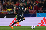 Ever Banega of Argentina during the International friendly game football match between Spain and Argentina on march 27, 2018 at Wanda Metropolitano Stadium in Madrid, Spain - Photo Rudy / Spain ProSportsImages / DPPI / ProSportsImages / DPPI