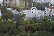 Belo Horizonte_MG, 23 de maio de 2006.  ..TIM_Praça da Ciencia..Segunda visita as obras da praça da ciência TIM. Projeto que conta com a parceria do governo de minas e a empresa de telefonia TIM...Foto: MARCUS DESIMONI / NITRO