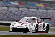 January 22-26, 2020. IMSA Weathertech Series. Rolex Daytona 24hr. #912 Porsche GT Team Porsche 911 RSR, GTLM: Mathieu Jaminet, Earl Bamber, Laurens Vanthoor