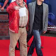 NLD/Amsterdam/20140422 - Premiere The Amazing Spiderman 2, Frits Lambrechts en .............
