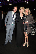 CHRIS RHODES; SALLY RHODES; TRACY BAILEY , Preview for The London Motor Show, Battersea Evolution. London. 5 May 2016