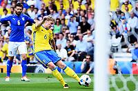 Emil Forsberg Sweden <br /> Toulouse 17-06-2016 Stade de Toulouse <br /> Football Euro2016 Italy - Sweden / Italia - Svezia Group Stage Group E<br /> Foto Massimo Insabato / Insidefoto