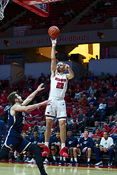 NORMAL, IL - November 29: Matt Chastain during a college basketball game between the ISU Redbirds and the Prairie Stars of University of Illinois Springfield (UIS) on November 29 2019 at Redbird Arena in Normal, IL. (Photo by Alan Look)