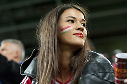 September 3, 2017 - Budapest, Hungary - The Hungarian fan enjoy the atmosphere during the FIFA World Cup 2018 Qualifying Round match between Hungary and Portugal at Groupama Arena in Budapest, Hungary on September 3, 2017  (Credit Image: © Andrew Surma/NurPhoto via ZUMA Press)