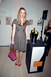 DAISY DE VILLENEUVE at the presentation of the Veuve Clicquot Business Woman Award 2009 hosted by Graham Boyes MD Moet Hennessy UK and presented by Sir Trevor Macdonald at The Saatchi Gallery, Duke of York's Square, Kings Road, London SW1 on 28th April 2009.