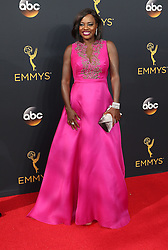 Viola Davis  bei der Verleihung der 68. Primetime Emmy Awards in Los Angeles / 180916<br /> <br /> *** 68th Primetime Emmy Awards in Los Angeles, California on September 18th, 2016***