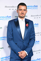 Orlando Bloom attending the SeriousFun London Gala 2018 held at the Roundhouse in London..Photo credit should read: Doug Peters/EMPICS