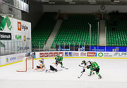 14.10.2016, Hala Tivoli, Ljubljana, SLO, EBEL, HDD Olimpija Ljubljana vs Moser Medical Graz 99ers, 9. Runde, im Bild Players // during the Erste Bank Icehockey League 9th round match between HC Orli Znojmo and Moser Medical Graz 99ers at the Hala Tivoli in Ljubljana, Slovenia on 2016/10/14. EXPA Pictures © 2016, PhotoCredit: EXPA/ Sportida/ Vid Ponikvar<br /> <br /> *****ATTENTION - OUT of SLO, FRA*****